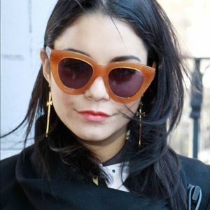 Karen Walker Eyewear Anytime Sunglasses Tan